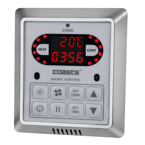 Digital Control Panel : Con wall mounted digital control panel with box