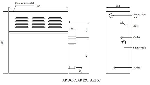 AR 大 机箱 图 英文